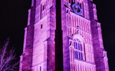 The Bell Tower 'Purple4Polio'